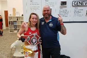 Jessica wins vacant youth title