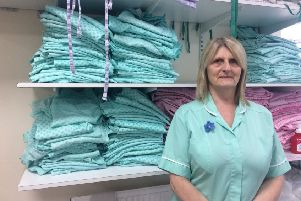 Val Armstrong, domestic assistant at Northumbria Healthcare NHS Foundation Trust.