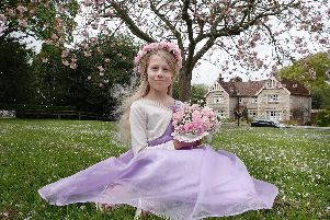 Ford May Queen Willow Abbott. Picture by Jane Coltman