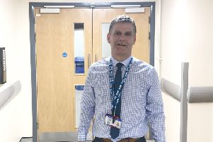 Paul Donkin, estates officer (fire), with Norhtumbria Healthcare.