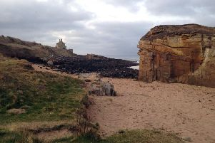 Rumbling Kern, with the Bathing House in the background. Picture by Paul Larkin