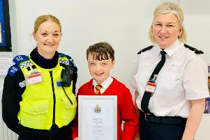Zak was commended for his heroic deed.