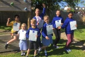 Pupils at St Michael's CE Primary School in Alnwick have achieved graded certification in both 'modern dance' and 'ballet' with the Alnwick Academy of Dance.