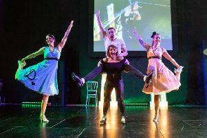 Friends dance to Strictly success