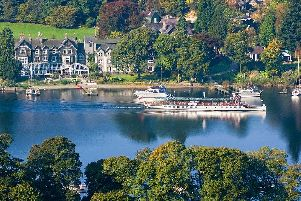 Lakeside Hotel and Spa on the shores of Lake Windermere