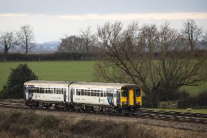 """A Northern train near Colton Junction in North Yorkshire. Transport Secretary Grant Shapps has signalled he wants to remove the franchise from Northern, warning he is """"simply not prepared"""" for the service to carry on as it is. PA Photo."""