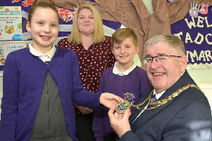 VIP visitor for Tadcaster Primary Academy
