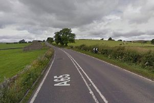 The police chase began on the A65 near Settle