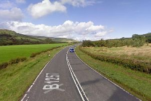 An accident has blocked the B1257 at Chop Gate today