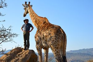 From Jurassic World to Harrogate - The Travelling Vet Jonathan Cranston is coming to town