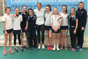 Girls inspired by England cricketer