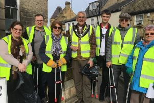 Residents spring into clean up