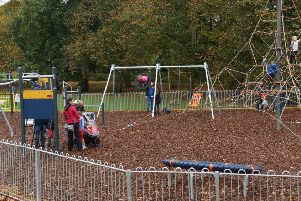 Playground due to open