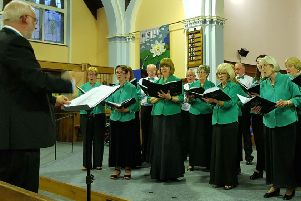 Singers in harmony for funds