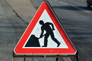 Roadworks will be overnight