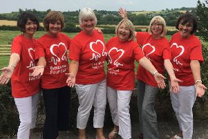 Hearty funds raised in first charity event