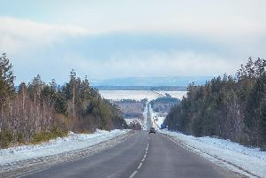 The Trans-Siberian Highway can vary from well-surfaced motorway in the west to an unstable and tricky dirt track in the east. ''Conditions often deteriorate when heavy rains make sections of the road impossible to use, and extreme winter conditions almost fully destroy parts of the road each year.''The road is isolated and desolate, so it would be a good idea to carry survival supplies with you. If you get caught out here, it just might be the last mistake you'll ever make.