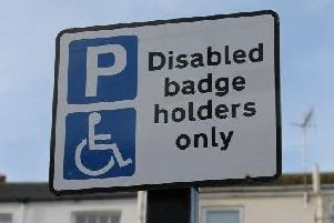 The scheme will improve access to the site for blue badge holders