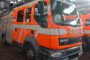 Fire crews were mobilised