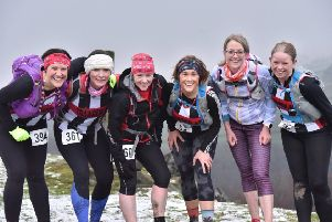 Taking part in The Hebden are (from left) Joanne Brown, Nicola Regan, Chell Brooks, Alex Fort, Claire Storozuk and Elaine Corcoran