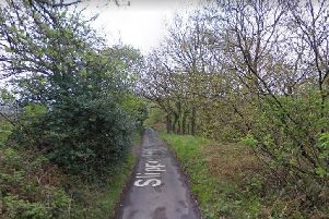 Slipper Hill in Foulridge where the chicken was fly-tipped. (credit: Google Maps)