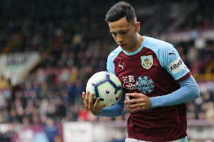 Burnley's Dwight McNeil''Photographer Rich Linley/CameraSport''The Premier League - Saturday 13th April 2019 - Burnley v Cardiff City - Turf Moor - Burnley''World Copyright � 2019 CameraSport. All rights reserved. 43 Linden Ave. Countesthorpe. Leicester. England. LE8 5PG - Tel: +44 (0) 116 277 4147 - admin@camerasport.com - www.camerasport.com