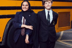 Kiran and Lucas in The Great British School Swap