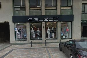The Select store in Burnley