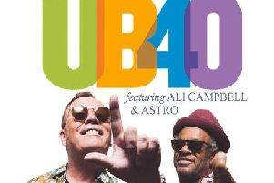 UB40 fearuring Ali Campbell and Astro will be performing at Aintree
