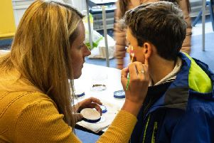 Parish of Little Marsden hosted face painting at its summer fair last weekend.