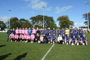 A charity football match will be held