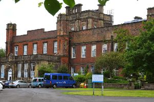 The Sue Ryder care centre at Cuerden Hall, Bamber Bridge