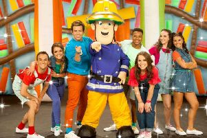 Fireman Sam and Milkshake! presenters before his reputation was brought into disrepute on Wednesday (September 11) Credit: Channel 5