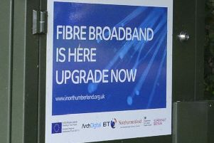 I am pressing for the speedier roll-out of high speed broadband in rural areas.