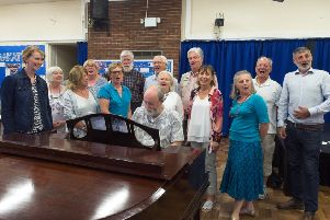 Ebenezer good: The Stamford Bridge Singers will perform 'What the Dickens!' at the village hall.