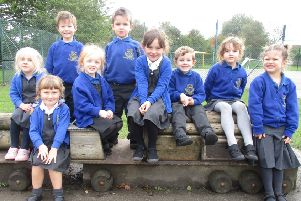 The new pupils at St Martin's School have had a busy half term.