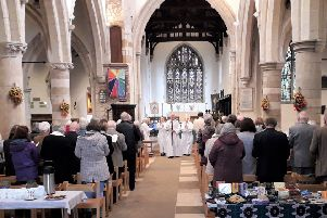 The 'Let There Be Light' celebration at All Saints Church  takes place this weekend.