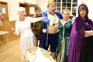 A double bill of comedy by the Market Weighton Community Players will be performed at Shiptonthorpe Village Hall.