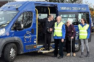 Beverley Community Lift will put the Persimmon Homes donation towards a new minibus.