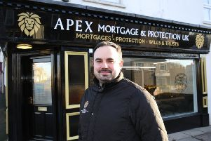 Apex Mortgage and Protection UK is led by former Pocklington School pupil Lewis Papa. Photo by Richard Doughty.