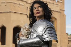 Shappi Khorsandi will be at Pocklington Arts Centre on Sunday, February 16.