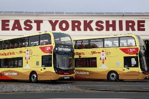 East Yorkshire utilised its new buses, with nearly all of the 21 vehicles used meeting ultra-low emission Euro VI standards.