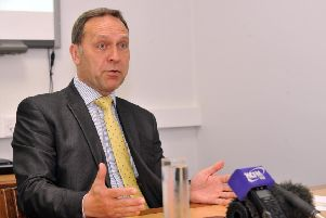 Humberside Police and Crime Commissioner Keith Hunter.