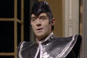 Michael Jayston in Dr Who