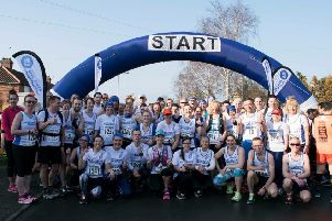Places for this year's Snake Lane race were snapped up in less than an hour. Pictured: Competitors at last year's event.