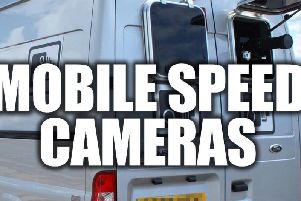Where are mobile speed cameras this week?