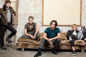 The Vamps at Sheffield O2 Academy on Monday, July 10.