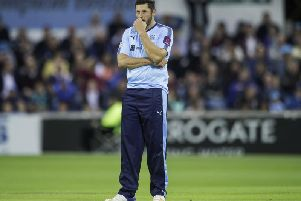 Yorkshire's vice captain Tim Bresnan was unable to repeat his six-wicket haul from Friday night