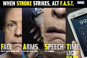 The FAST test can be carried out by anyone and is a really effective way of spotting the typical signs of a stroke