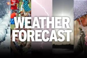 The weather forecast for East Yorkshire and Ryedale.